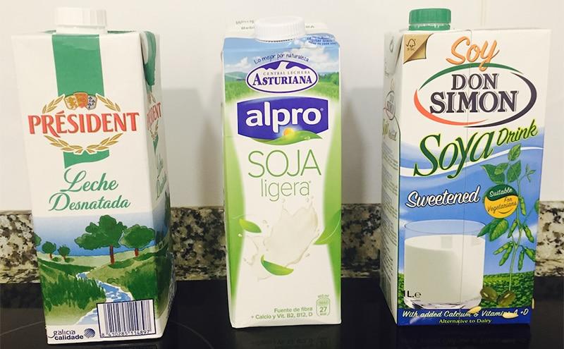 tipos de leche - Tipos de leche