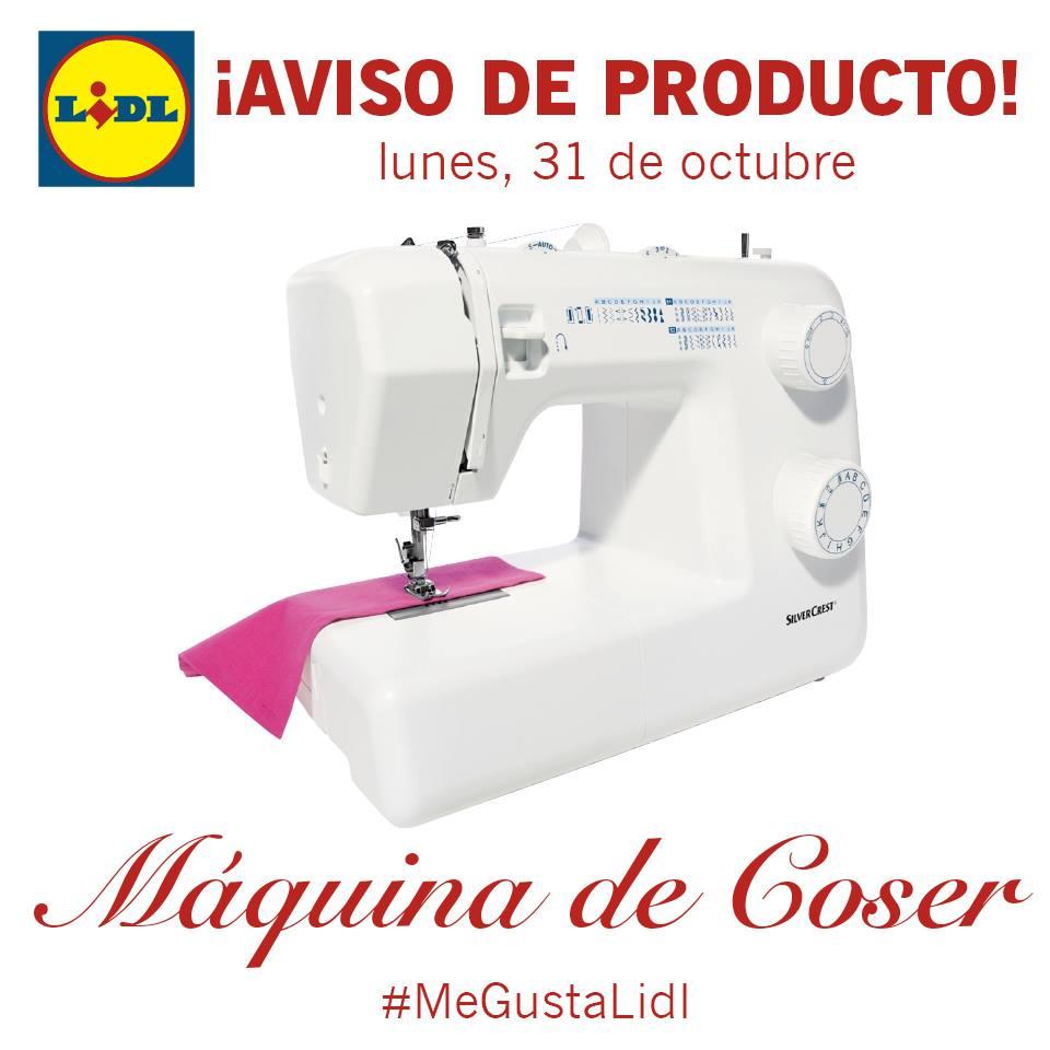 Máquina de coser SilverCrest de Lidl