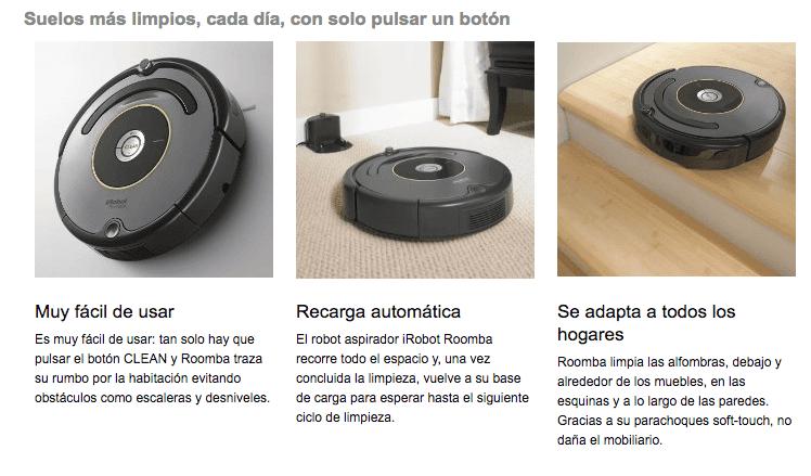 Captura de pantalla 2016 11 10 a las 16.22.25 - Oferta del iRobot Roomba 615