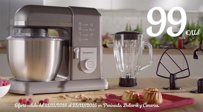 procesador de alimentos silvercrest de lidl robot de cocina