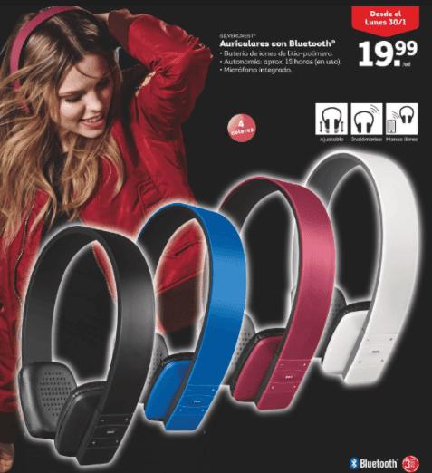 Auriculares con Bluetooth - Auriculares y teclados con Bluetooth Silvercrest en Lidl
