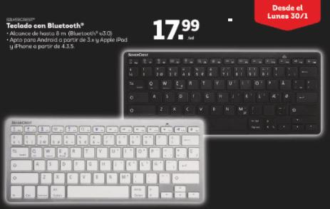 Teclado con Bluetooth - Auriculares y teclados con Bluetooth Silvercrest en Lidl