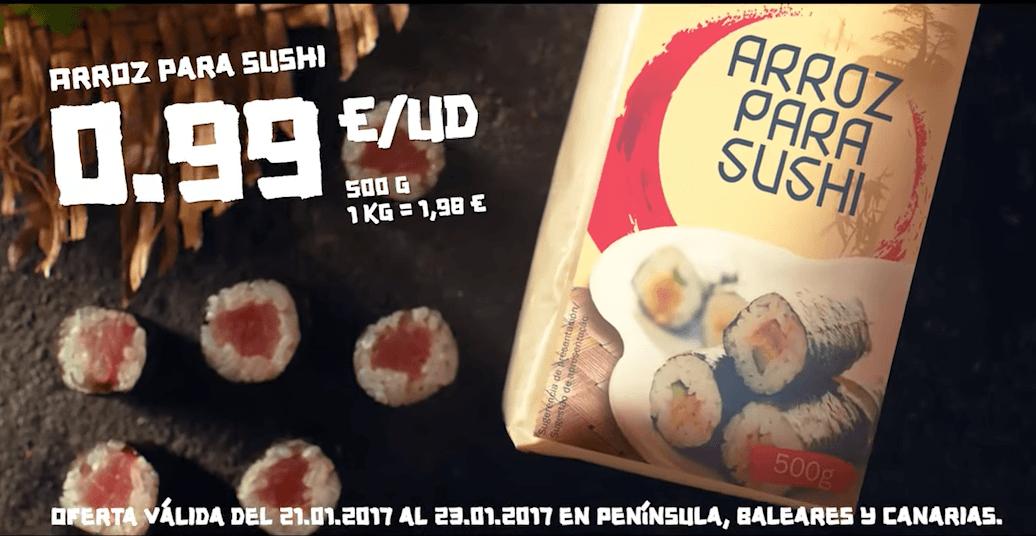 arroz para sushi vitasia lidl - Semana Asiática en Lidl, vuelve los productos Vitasia