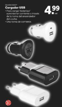 cargadores usb - Auriculares y teclados con Bluetooth Silvercrest en Lidl