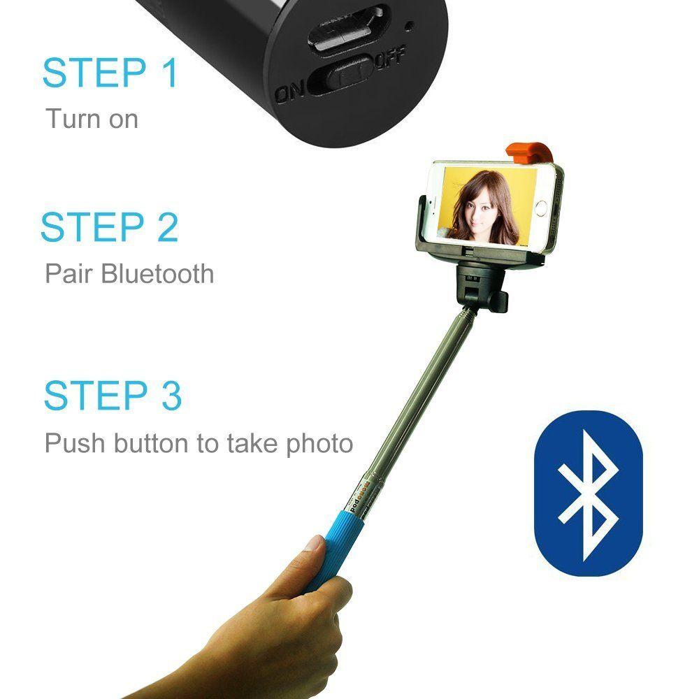 palito selfie - Ganga! Palo Selfie por Bluetooh por 1,98€