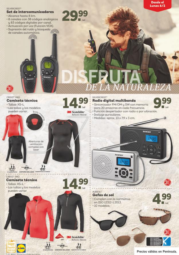 trekking lidl - Especial Trekking en Lidl a partir del 6 de febrero