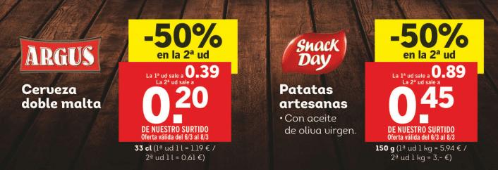cerveza argus oferta - Folleto Lidl a partir del 2 de Marzo