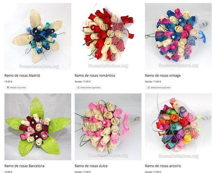 regalar ramo rosas - Día de la madre en Carrefour del 26 abril al 6 de mayo