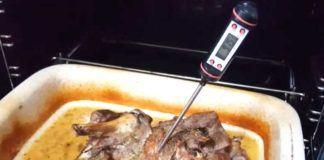Termómetro digital de cocina