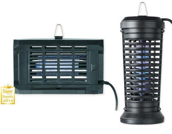 lamparas antimosquitos - Lámpara Antimosquitos y mosquitera de aluminio en Lidl