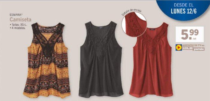 camisetas esmara - ☀ Catálogo Lidl del 8 de Junio al 14 de Junio - Vuelve Oriente 1001 delicias