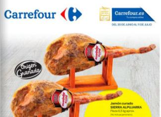 Carrefour jamones