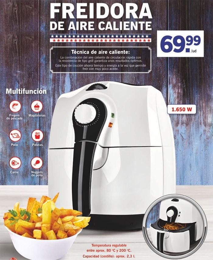 freidora aire caliente Lidl - Freidora de aire caliente Lidl de la marca Silvercreset