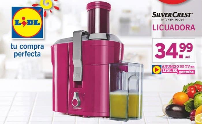 licuadora lidl - Licuadora de Lidl marca Silvercrest