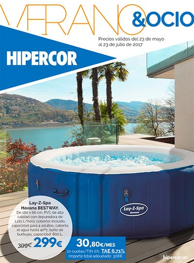 Piscinas y spa en hipercor ofertas y cat logos de for Piscinas hinchables alcampo