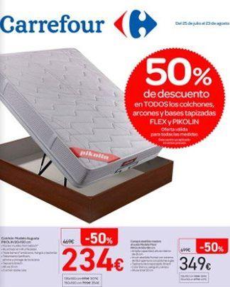 Colchones Carrefour