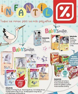 Productos infantiles en DIA