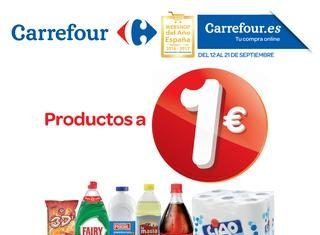 Productos 1€ Carrefour