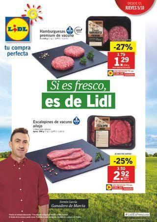 Catálogo Lidl ofertas 5 octubre