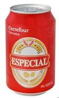 Cerveza Especial Carrefour