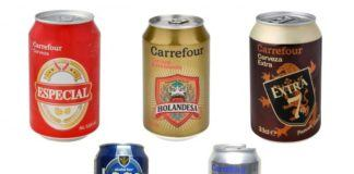 Cervezas Carrefour