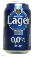 lager sin alcohol - Cerveza Carrefour