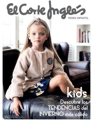 Moda infantil para invierno en El Corte Inglés