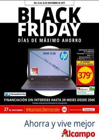 Black Friday Alcampo