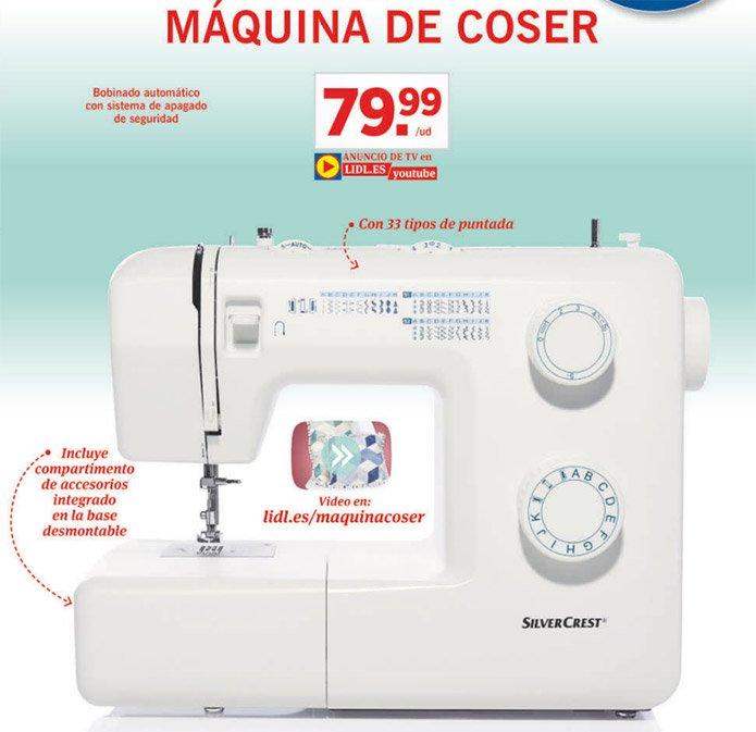maquina coser silvercrest nueva - Catálogo Lidl del 23 al 29 Noviembre - Black Friday Lidl