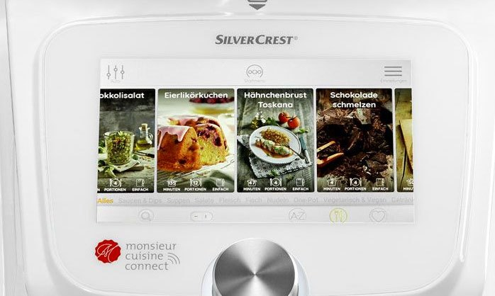 pantalla lcd robot cocina lidl - Robot de cocina de Lidl