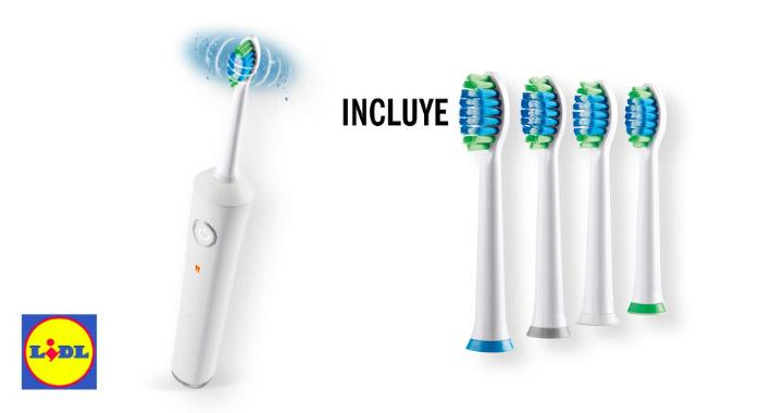 cepillo electrico lidl - Cepillo dental Eléctrico Sónico Navadent de Lidl