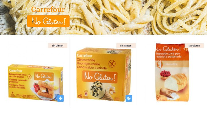Alimentos Sin Gluten Carrefour