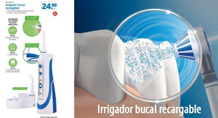 Irrigador bucal recargable - Irrigador bucal recargable Nevadent