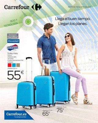 Carrefour maletas folleto