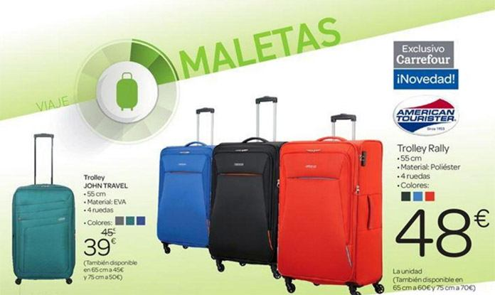 maletas carrefour ofertas - Catálogo Carrefour del 16 de marzo al 4 de Abril