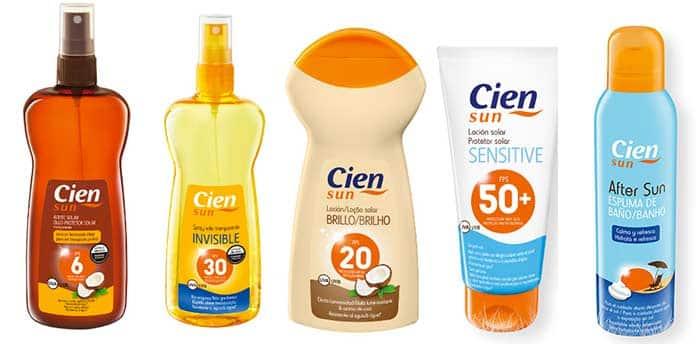 cien sun cremas solares lidl - Crema, espray, espuma y loción solar Lidl 🌞