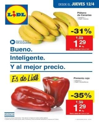 Catálogo LIDL online abril