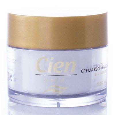 Crema de noche Gold regeneradora - Cremas faciales Gold Cien de Lidl