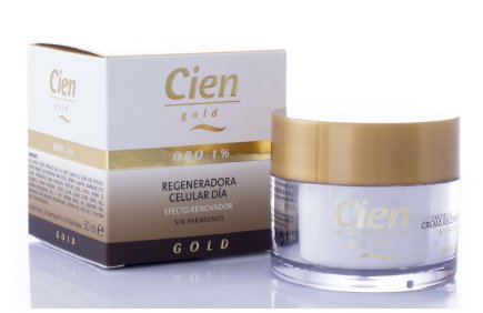 Crema dia Gold regeneradora - Cremas faciales Gold Cien de Lidl