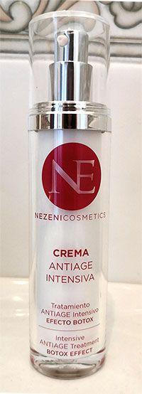 nuevo envase nezeni - Crema antiarrugas NEZENI COSMETICS