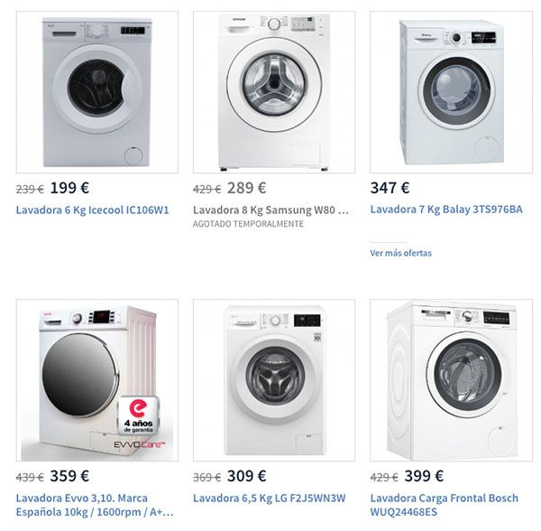 lavadoras carrefour - Las mejores lavadoras
