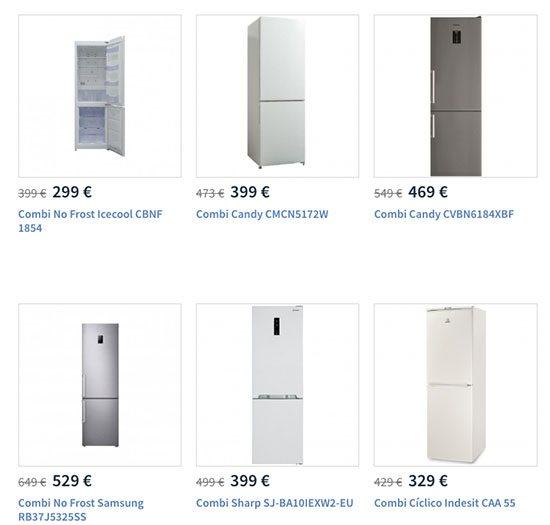 combis carrefour - Los mejores frigoríficos