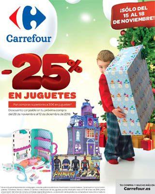 Noviembre Juguetes Al 25Del Carrefour 18 15 EWQCxoderB