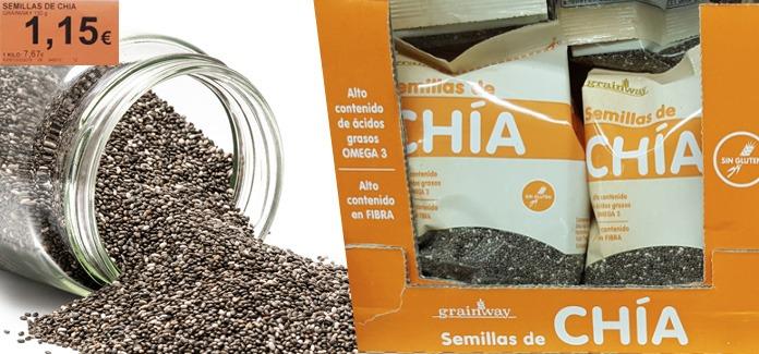 semillas chia mercadona - Semillas de Chía Mercadona