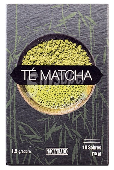 envase te matcha mercadona - Té Matcha Mercadona