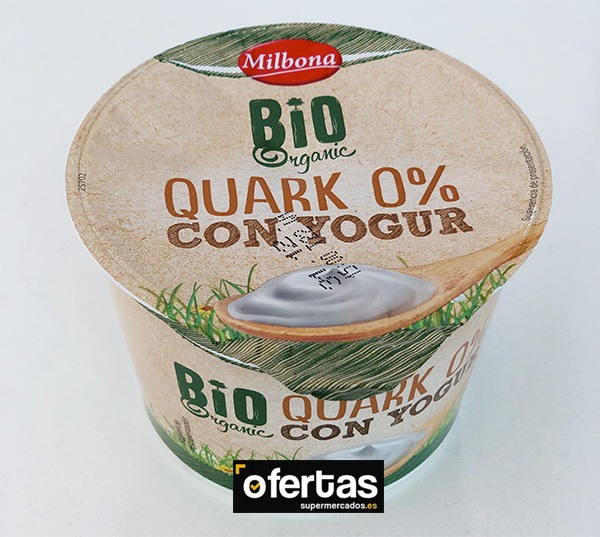 Queso Quark Lidl 0% con yogur