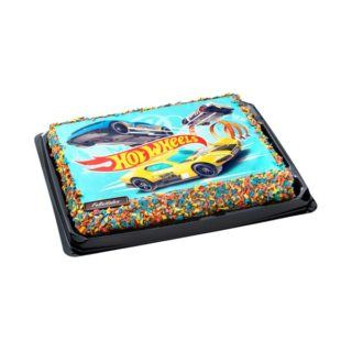 Tarta infantil Hot Wheels 320x320 - Tartas de Mercadona