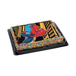 Tarta infantil Spiderman 320x320 - Tartas de Mercadona