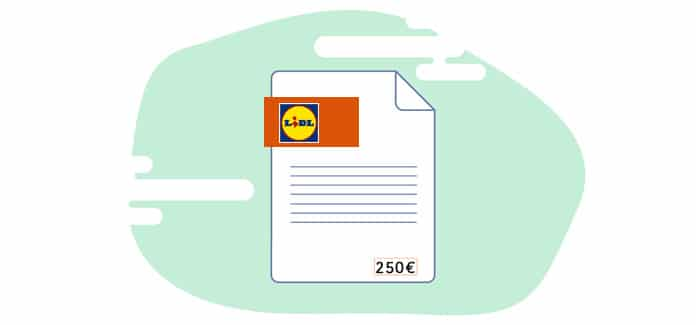 Gráfico Factura Lidl
