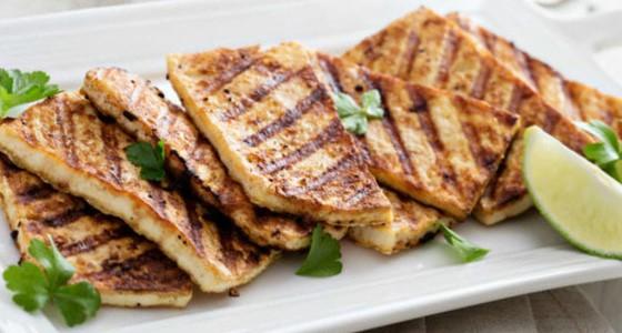Receta tofu plancha